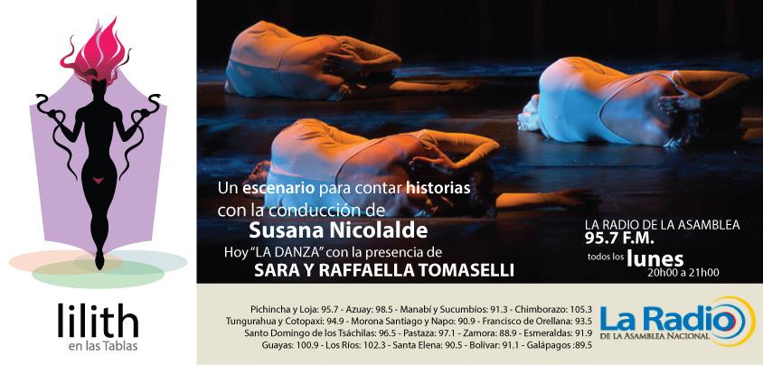 Lilith en las Tablas- Sara y Rafaella Tomaselli