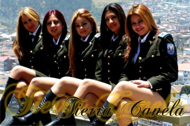 Grupos femeninos tropicales de Ecuador
