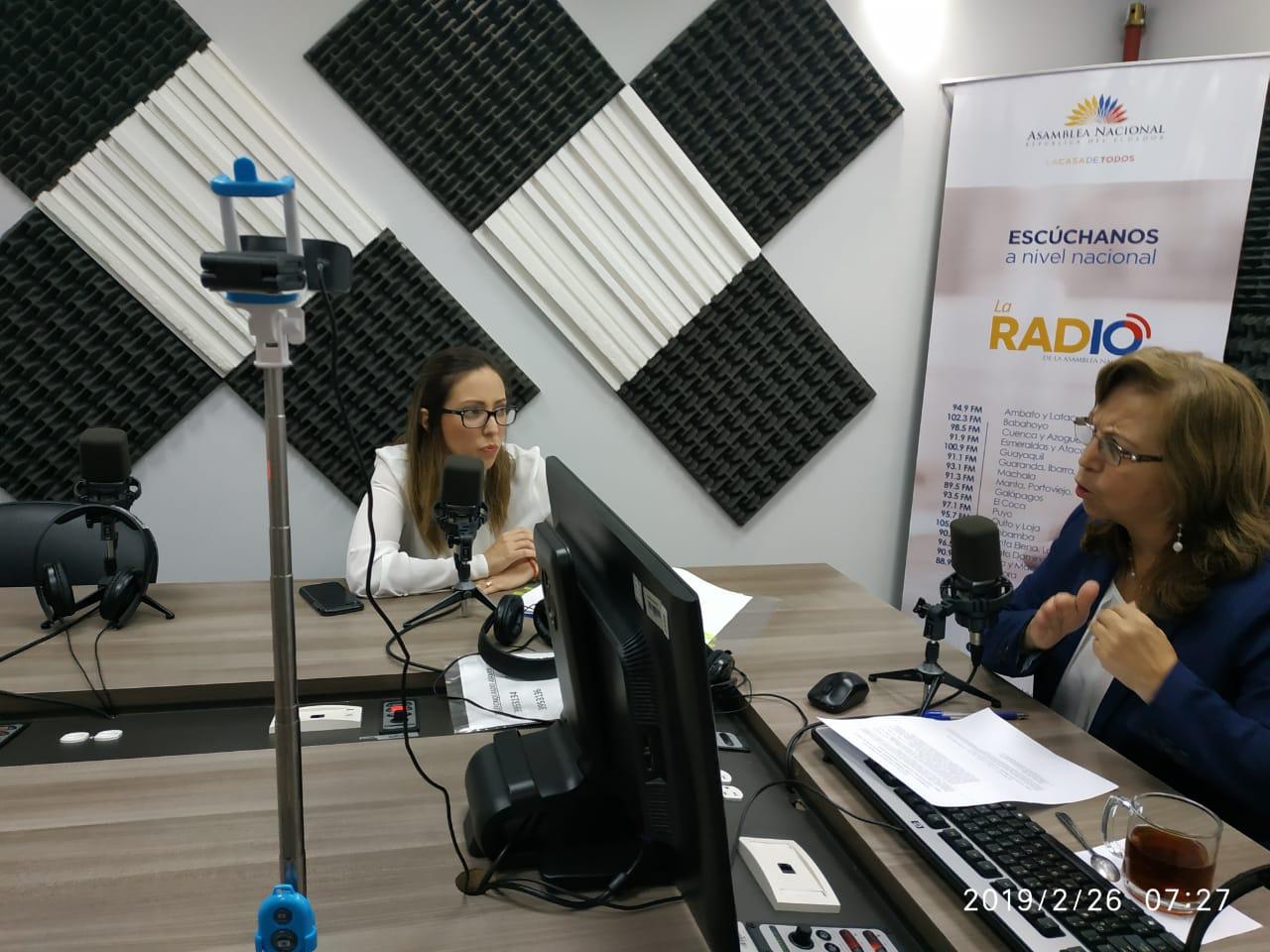 Verónica Espinosa: créditos de multilaterales para el sector de la salud