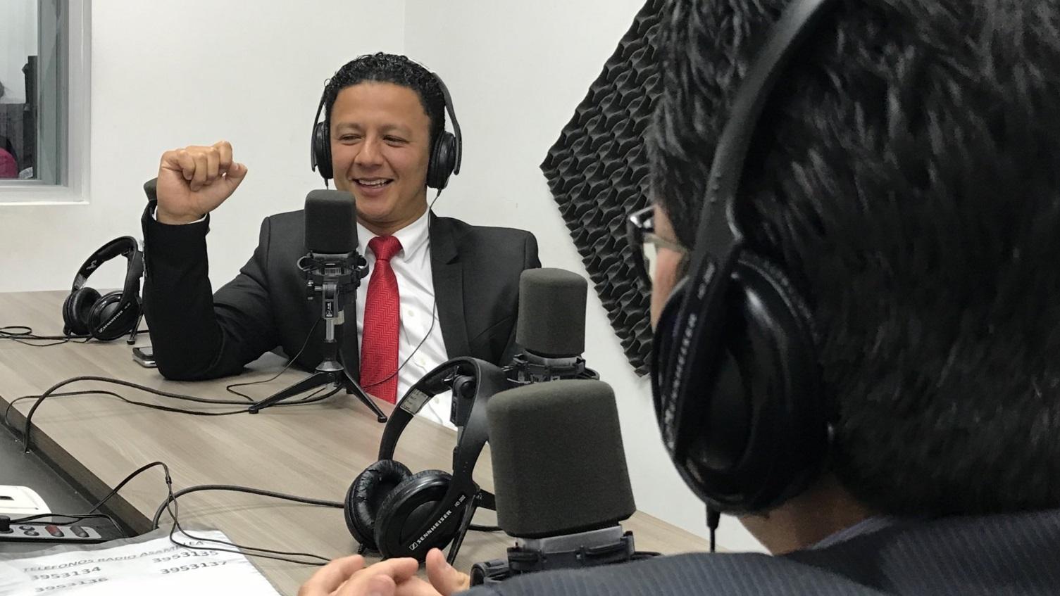 Juan Pablo Velín: La política y la comunicación son lo suyo