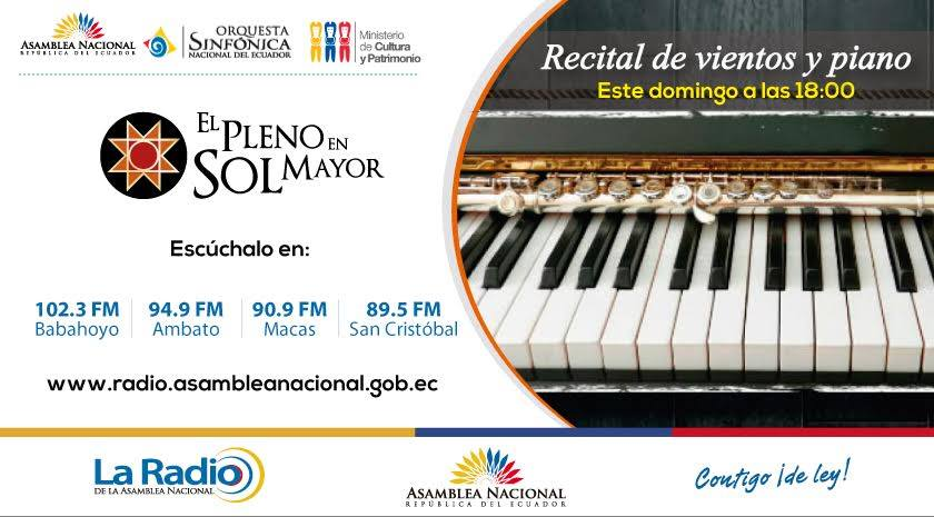 Recital de Vientos y Piano
