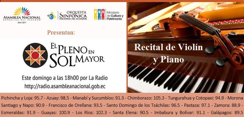 VIOLINES Y PIANO II