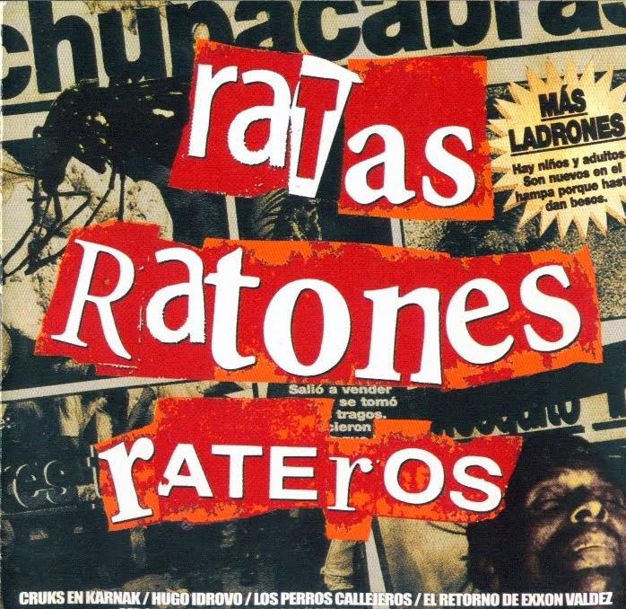 RATAS RATONES Y RATEROS