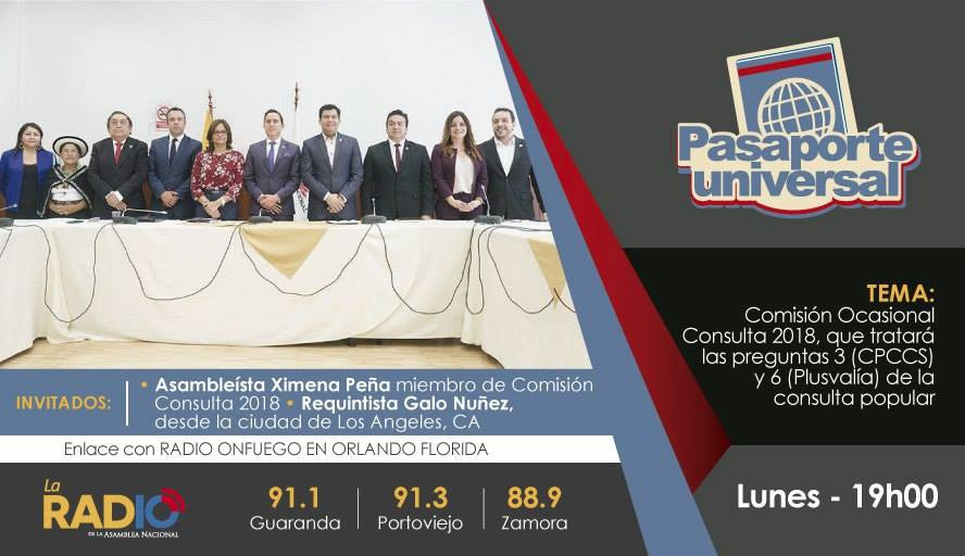 Comisión Ocasional Consulta 2018