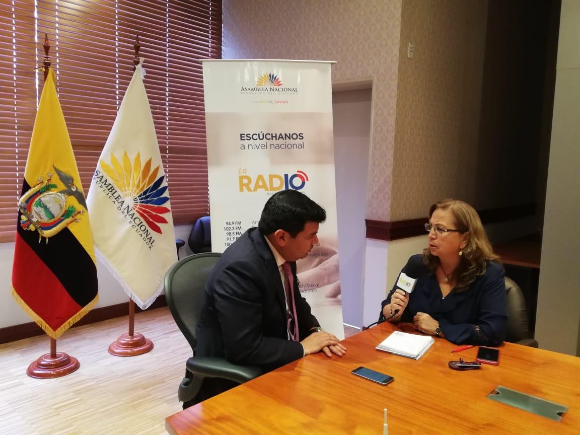 César Litardo: inicio de gestión al frente de la Asamblea Nacional
