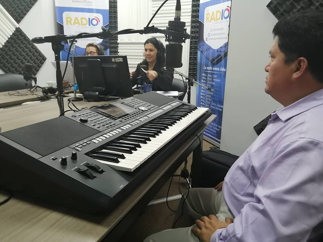 Paco Godoy(músico) y Juan Carlos Moya(escritor)