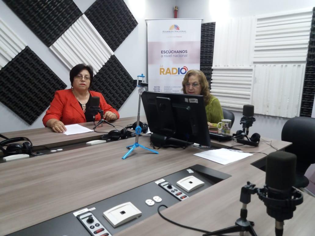 Wilma Salgado: propuesta de reformas tributarias