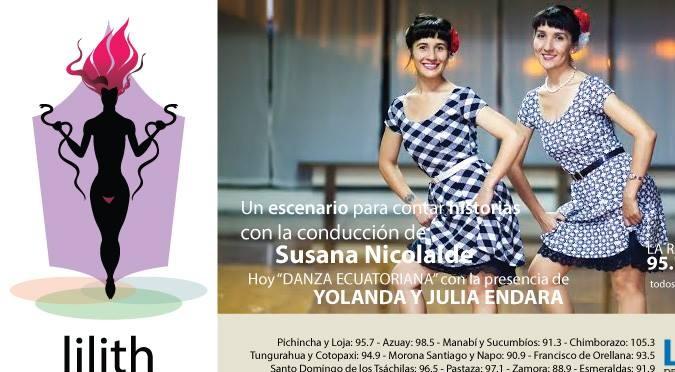 Lilith en las Tablas-Yolanda y Yulia Endara